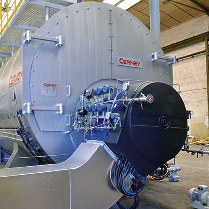 Industrial burners for a thermal power plant in Iraq | E&M Combustion