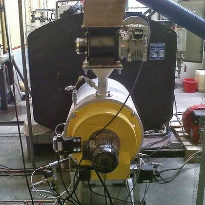 Desarrollo de quemador de pellets modulante E&M Combustion