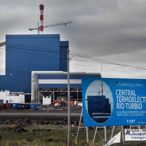 E&M Combustion´s burners at the thermoelectric plant of Rio Turbio Argentina