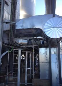 Gas recirculation conduit   E & M Combustion