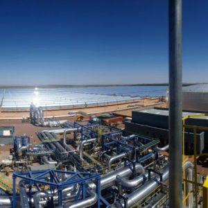 Quemadores industriales de gasoil en la termosolar Bookport - E&M Combustion